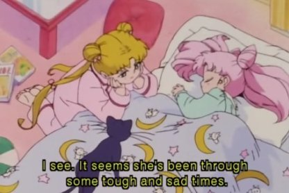 Image result for sad luna sailor moon